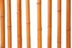 Isolerade bambupinnar Arkivbilder