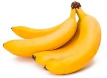 Isolerade bananer Arkivfoto