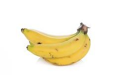 Isolerade bananer Fotografering för Bildbyråer