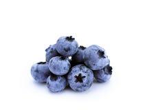 isolerade blåbär Royaltyfri Foto