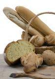 isolerade blandade bröd royaltyfri bild