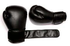 isolerade boxninghandskar royaltyfria foton
