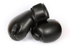isolerade boxninghandskar Royaltyfri Foto