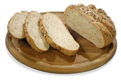 isolerade brädebrödkorn Arkivfoto