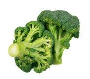 isolerade broccoliflorets Royaltyfri Bild