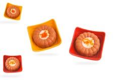 isolerade choklader Arkivbild