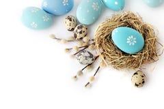 isolerade easter ägg arkivbilder