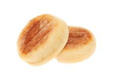 Isolerade engelska muffin Fotografering för Bildbyråer