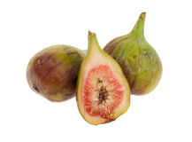 isolerade figs Arkivfoton