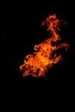 isolerade flammor Arkivfoton