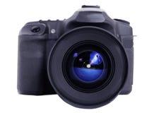 Isolerade foto och videokamera Royaltyfri Bild