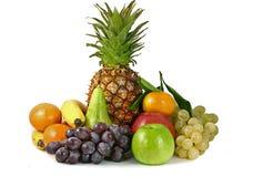 isolerade frukter Arkivfoto