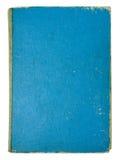 isolerade gammala sidor för blå bok Arkivbild