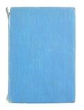 isolerade gammala sidor för blå bok Royaltyfria Foton