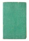 isolerade gammala sidor för bok green Royaltyfri Fotografi