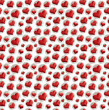 isolerade hjärtor Arkivfoton