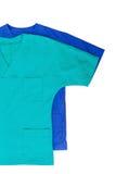 Isolerade medicinska kläder Royaltyfri Bild