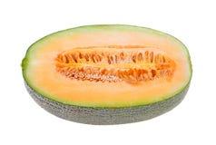 Isolerade melonskivor Arkivfoton