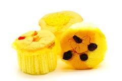 Isolerade muffin Fotografering för Bildbyråer
