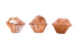 isolerade muffiner Royaltyfri Fotografi