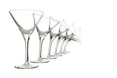 isolerade olika exponeringsglas för tecken whit Royaltyfri Bild