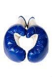 isolerade par för boxning handskar Royaltyfri Fotografi