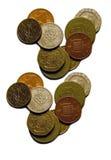 isolerade pengar Royaltyfri Fotografi