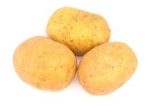isolerade potatisar tre arkivbild