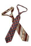isolerade slipsar två Royaltyfria Bilder