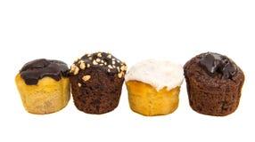 isolerade små muffin Arkivfoto