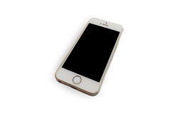 Isolerade Smartphone med vit bakgrund Royaltyfri Foto