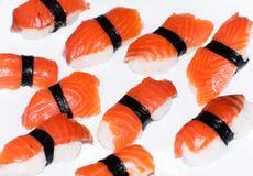 isolerade sushi Fotografering för Bildbyråer