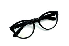 Isolerade svarta exponeringsglas Royaltyfri Foto