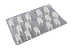 isolerade tablets Arkivfoto