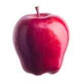 isolerat äpple Arkivfoton