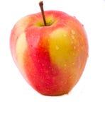 isolerat äpple Royaltyfri Fotografi