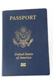 Isolerat amerikanskt pass Royaltyfria Bilder