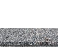 Isolerat bästa för marmorstentabell - kan användas för skärm arkivfoto