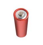 isolerat batteri Fotografering för Bildbyråer