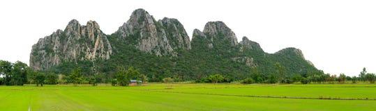 Isolerat berg Royaltyfri Bild