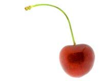 isolerat Cherry 10 royaltyfri foto