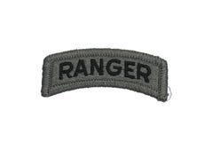 Isolerat emblem för kommandosoldat för USA-ARMÉ Royaltyfri Bild