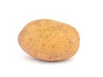 isolerat en potatis arkivfoton