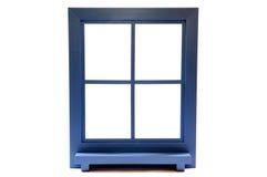 isolerat fönster royaltyfri bild