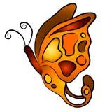 isolerat fjärilsgem för 3 konst royaltyfri illustrationer