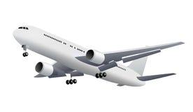 isolerat flygplan Arkivbilder