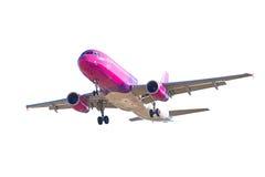 Isolerat flygplan arkivfoton