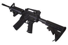 Isolerat gevär för anfall M4 arkivfoto