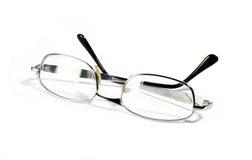 isolerat glasögon Royaltyfria Bilder