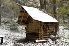 isolerat hus Arkivfoton